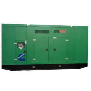 100kw Cummins Diesel Engine Genset Soundproof Power Generator
