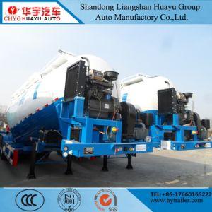 반 3axle 40cbm 대량 시멘트 공급 유조선 Bulker 유조선 트럭 트레일러 가격