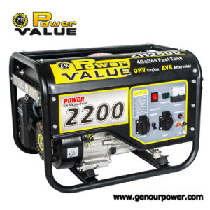Potenza Value Gasoline Generator, Electric Generators Made in Cina