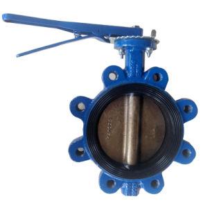 Tipo de Válvula Buttferfly orelha com alavanca de mão com Caixa de Engrenagens