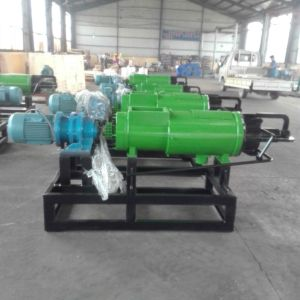 肥料の沈積物は湿気機械を除去する機械家禽の肥料を排水する