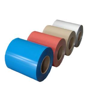 La couleur de haute qualité recouvert de feuille de toiture en métal de couleur