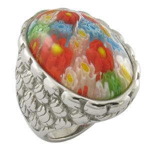 西部様式の多色刷りの可変性の石造りのリング