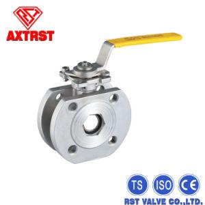 Полупроводниковая пластина тип шаровой клапан с ISO5211 крепления блока