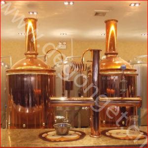 400L Brewpub utilizado equipamento de cervejaria cerveja