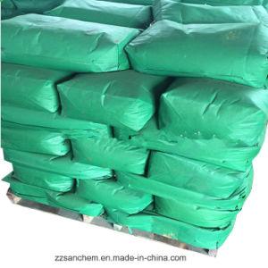 El óxido de hierro en el pigmento verde de la pintura y la construcción