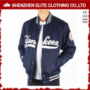 Venda por grosso College Varsity personalizada simples de nylon jaqueta