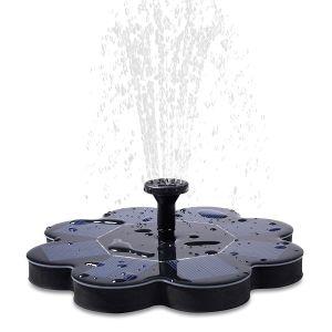 Fuente de Agua Solar Decrative flotando al aire libre