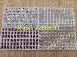 De kleurrijke Vorm van het Oog Rhienstonehorse voor de Decoratie van Juwelen (DZ-3002)