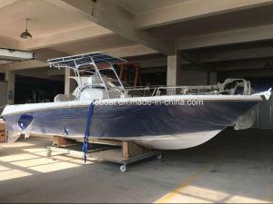 27ft velocidad GRP barco de trabajo de la pesca deportiva con motor