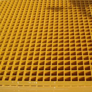 GRPのプラットホームのガラス繊維の格子