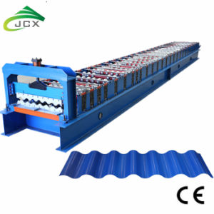 Ondulation de l'acier Machine-Galvanized formant la machine de toit