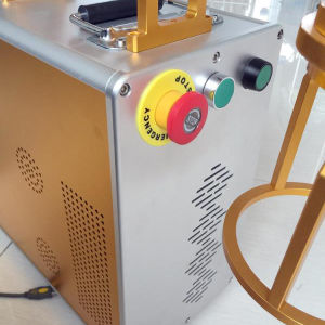 ABS/Metal/PlasticのためのハンドルCNCレーザーのマーキングの彫版機械