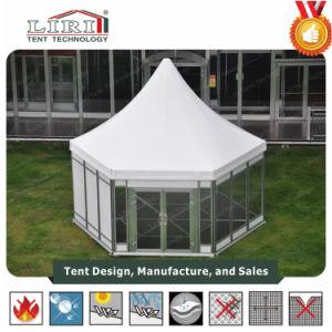 Wedding PartyおよびEventsのための高いPeak Polygon Tent