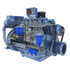 Motore marino del crogiolo di motore diesel Wp6 di Weichai Deutz 198HP 145kw con l'alta qualità