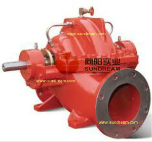 750gpm 90m Feuerbekämpfung-Wasser-Pumpe gesetztes UL/FM verzeichnet