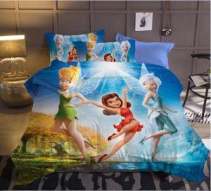 熱い販売の回転式3DディスパースプリントMicrofiberポリエステルホーム寝具セット