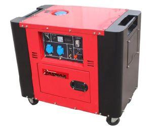 4.6kw определяют генератор дизеля старта цилиндра супер молчком электрический
