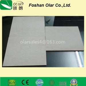 Panneau de fibre de ciment Mur d'évitement--grain du bois Matériaux de construction