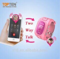 Kinder GPS-Typ Armbanduhr GPS-Verfolger für Kinder Wt50-S