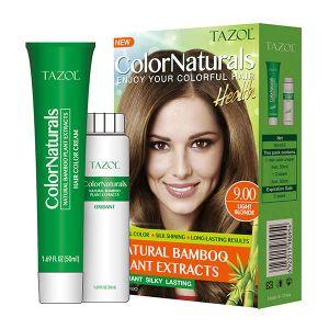 Kleurstof van het Haar van Colornaturals van Tazol de Permanente (Lichte Blonde) (50ml+50ml)