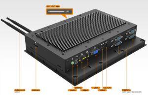 10.4  Industrial tutti compresi Embedded Computer con Windows 7/8 di System