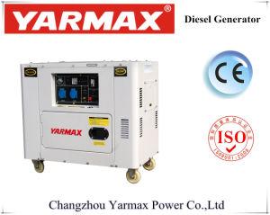 motore di modello 7kVA generatore diesel silenzioso eccellente del nuovo 192f