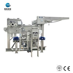 Acabado textil teñido Conectar Stenter fabricante de máquinas de lavado de extracción de aceite