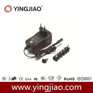 27W DC Adaptador de corriente variable con CE UL