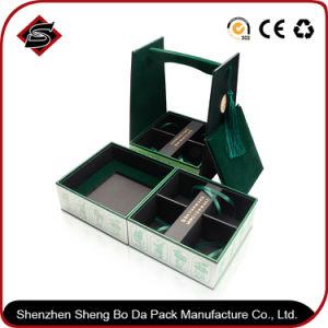 La impresión de material reciclado caja de embalaje de cartón personalizadas con logo estampado