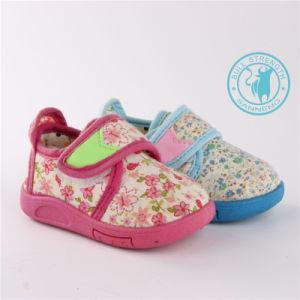 Детский обувь Мягкая обувь с ЭБУ системы впрыска Magic нажмите (SNC-002019)