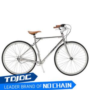 소녀 포도 수확 자전거 Retro 중국 도로 자전거 공장 가격을%s 판매/700c를 위한 304 강철 커피 자전거