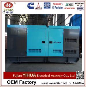 Gerador elétrico da potência Diesel silenciosa de Weifang Ricardo 100kVA/80kw (10-250kW)