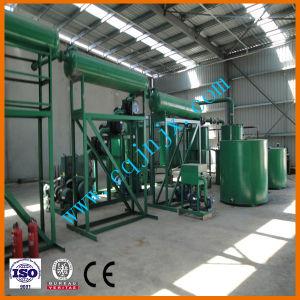 Les déchets d'huile moteur et la conversion de système de distillation, filtration de l'huile de la machine de voiture