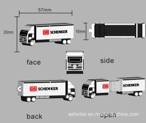 3D-формы деловых обедов USB Stick бачок форма резиновых флэш-накопитель USB