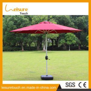 Soem-heißer Verkaufs-Aluminiumrahmen-wasserdichte im Freiengarten-Sonnenschirm-Strandsun-Regenschirm-Möbel