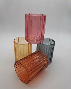 Os titulares de Velas vidro decorativo em outra cor e tamanho