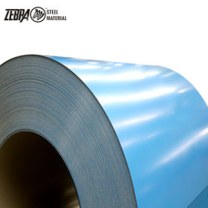 Revestido de Color de los materiales de construcción Prepainted/Galvalume bobinas de acero galvanizado