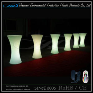 Караоке бар таблица LED мебель с прямым зарядка аккумуляторной батареи