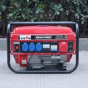 비손 (중국) 6.5HP 가솔린 발전기 공기에 의하여 냉각되는 스위스 Kraft Sk8500W 가솔린 발전기