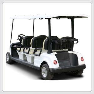6 Pessoa Marcação Aprovar Golf Sports Buggy eléctrico Novo Modelo (DG C6-8)