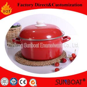 Enamelware voor Housewares Cookware van de Braadpan van de Keuken Vastgestelde