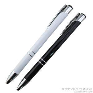 주문을 받아서 만들어진 로고 광고 선전 최고 금속 펜