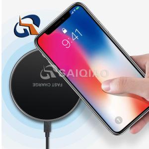 La carga de alta eficiencia 10W ultradelgadas cargador inalámbrico para el iPhone