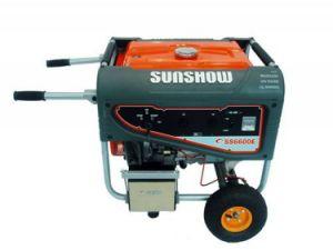 Бензиновый генератор Sunshow 6600)