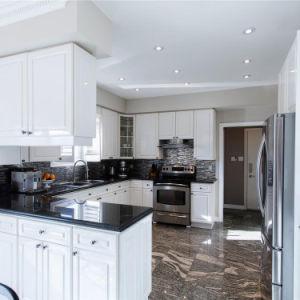 Oriental para la cocina encimera de granito negro/pisos