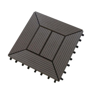 Telha plástica composta instalada fácil do Decking da telha do Decking de WPC
