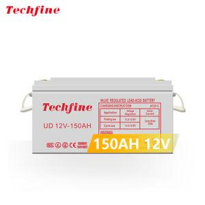 Techfine 12V ácido de chumbo recarregável Bateria de chumbo seladas Bateria