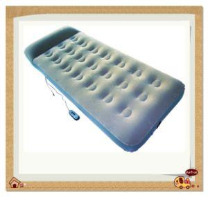 Cama inflable relleno con masajeador ocultos (LJ-16-003)