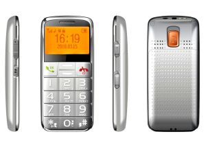 年配の可動装置Phone/GSM大きいボタンの携帯電話か使いやすい携帯電話(Aito 50+)